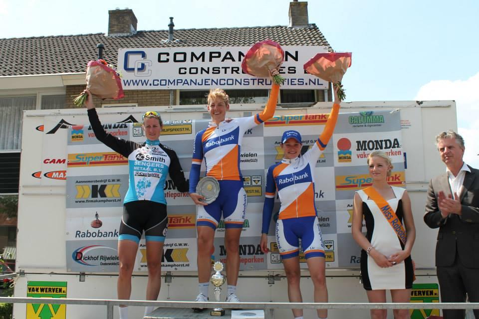 Podium Parel van de Veluwe: Vera, ik en Roxane (Foto: Raymond van der Veldt)